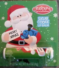 Rudolph the Red Nosed Reindeer, Santa lip balm~Sugar Cookie flavor