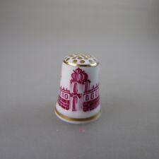Dé à coudre Dresdner cage porcelaine peinte (47396)