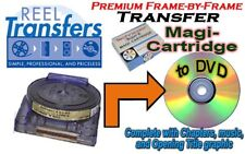 Transfer Film Magi-Catridge to DVD (premium frame-by-frame)