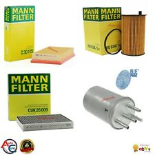 MANN FILTER KIT FOR JAGUAR S-TYPE 2.7 OIL AIR FUEL & CABIN FILTER BRAND NEW