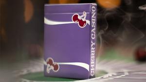 Cherry Casino Playing Cards: Purple