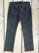 Notify Designer Jeans Cropped Black Wash, 26 Waist, VGUC