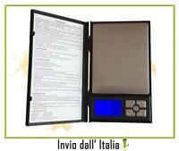 BILANCIA ELETTRONICA BILANCINO DI PRECISIONE DIGITALE LCD PESA 0,1 gr 2 Kg 08042