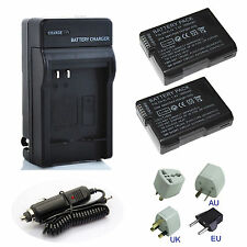New EN-EL14 14a Battery / Charger for Nikon D3100 D3200 D3300 D5100 D5200 D5300