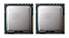 Par emparejado 2 X Intel Xeon L5520 2.26GHz Quad Core LGA 1366 CPU SLBFA Mac Pro