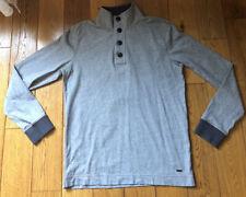 Mens Hugo Boss Orange Label Pullover Jumper Xl / L Grey Sweat Shirt Casual