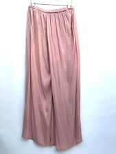 ZARA NUDE LOOSE FIT PALAZZO TROUSERS SIZE LARGE REF 7516 378