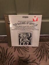 """Rossini: Barber of Seville""  3 Vinyl LP Box Set: 12""~ 33 RPM SEALED~1965"
