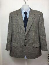 Austin Reed Mens Vintage Windowpane Check  Country Tweed Suit Jacket Blazer 42R