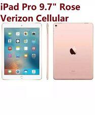 New Apple iPad Pro 9.7inch 32GB Verizon Cellular and WiFi Rose Gold MLYR2LL/A