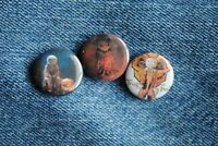 "Sam doll Trick R Treat Movie Buttons Pins Badge 1"" pinback Horror or"