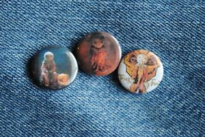 """Sam doll Trick R Treat Movie Buttons Pins Badge 1"""" pinback Horror or"""