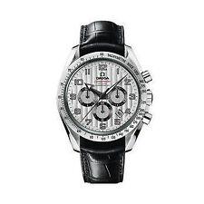 Armbanduhren aus Edelstahl mit Leder OMEGA