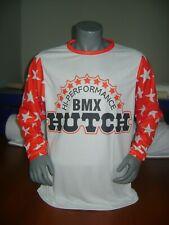 HUTCH BIKE JERSEY CLASSIC DESIGN BMX JERSEY RACE BIKE SHIRT 80S DESIGN MODERN XL