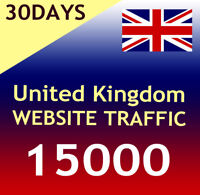 15000 UK Website Aurufe Daily 400-500 - Organic targeted german web traffic