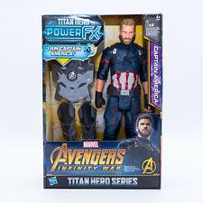Marvel Avengers Infinty War Titan Hero Serie Captain America Figur- english