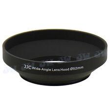 JJC 52mm Metal Lens Hood For Panasonic G VARIO 14-42mm 1:3.5-5.6 Wide Angle Lens