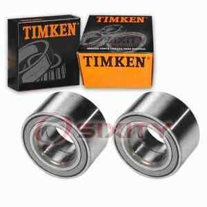 2 pc Timken Front Wheel Bearings for 1999-2005 Volkswagen Jetta Axle ji