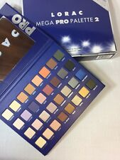 New LORAC MEGA PRO 2 w/Receipt 32 Shade Eyeshadow Palette Megapro 2