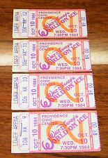 4 Vintage Disney World On Ice Collectible Ticket Stub Lower Arena Oct 10 1984