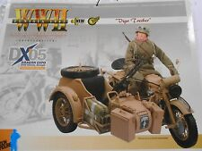 Dragon 1:6 DX'05 German Afrika Korp Motorcycle W/Driver Rare Cyber Hobby DID