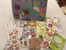 Caja de artesanía de Pascua Niños (arte rasguño, Espuma, Pegatinas, abalorios, etc.)