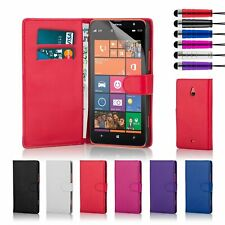 Magnetic PU Leather Wallet Flip Book Phone Case Cover Holder For Nokia Lumia 635