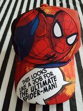 Marvel Ultimate Spider-Man Childrens Baseball Cap