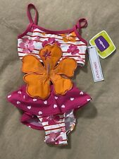 Brand New With Tags Toddler Girl 3T Swimming Suit By KidsRus