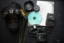 Nikon D7000 16.2MP Digital SLR Camera - Black (Kit w/ AF-S DX VR 18-105mm lens)
