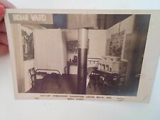Rare RPPC Baptist Missionary Exhibition Leeds March 1909 INDIAN WARD  §D168