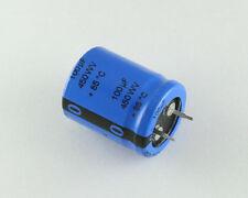 12x 100uF 450V Radial Snap In Mount Electrolytic Aluminum Capacitor 85C 450VDC