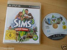 Sony PlayStation PS 3 PS3 Spiel Die Sims 3 Einfach Tierisch, deutsche Version