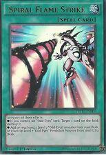 Yugioh DPDG-EN001 Spiral Flame Strike Ultra Rare Card 1st Edition