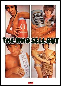 """Reproduction Alternate """"The Who - Sell Out"""" Poster, Punk, Size A2"""