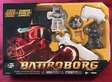 NEW - Tomy Battroborg Remote Controlled RC Battling Robots - Purple Robot T60800