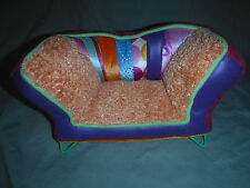 """Groovy Girls Couch Doll Accessory 12""""x7"""" Plush Soft Toy Stuffed"""