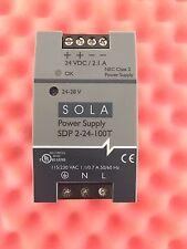 SOLA HEVI DUTY SDP-2-24-100T POWER SUPPLY 115/230 VAC, 24-28 VDC