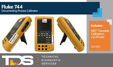 Used Fluke 744 Documenting Process Calibrator Td 7072 Nist Calibration