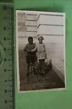 tolles altes Foto afrikanisches und weisses Kind - Kolonien ???