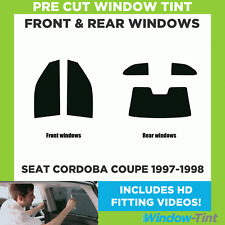 Pre Cut Window Tint - SEAT Cordoba Coupe 1997-1998 - Full Kit