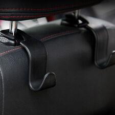 Universal Car Hanger Bag Organizer Hook Seat Headrest Holder Black Accessory 1PC