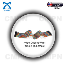 40cm 120Pcs Dupont Cable Jumper Line Female-Female For Breadboard Arduino USA