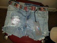 RAMPAGE Denim New With Tags Shorts Chlor Curvy