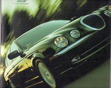 Jaguar S Type 2000-01 UK Market Sales Brochure 3.0 SE 4.0 V8