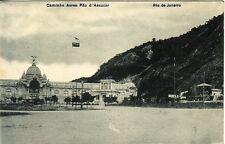 BRESIL - RIO DE JANEIRO - CAMINHO AERO PAO D'ASSUCAR.