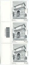 2011 terzina Arco di Traiano - Benevento SX CON CODICE A BARRE 1424