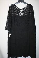 NWT Women's Jessica Howard Black Dress - 20 W- $120 - CUTE