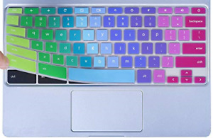 Colorful Keyboard Cover for 2020-2017 Samsung Chromebook 4 3 XE310XBA XE500C13 4