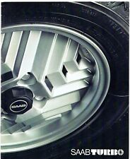 Saab 99 Turbo 3-dr 1978-79 UK Market Sales Brochure